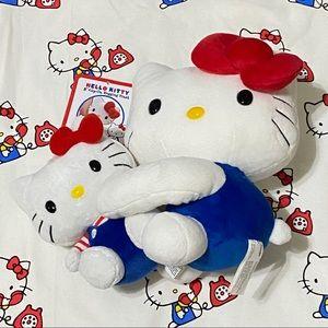 Hello Kitty Clip on hanging Plush + bean bag mini